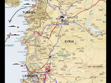 WWIII Report North Lebanon Syria Strategic Analysis Homs Sea - strategic analysis report