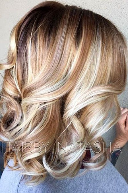 Haarfarbe Blond Medium Mittellange Haare Coole