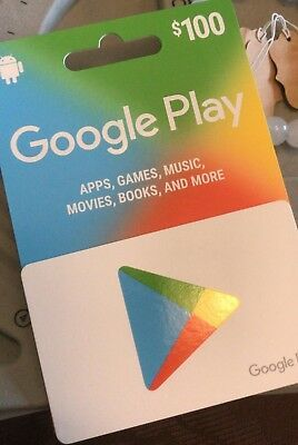 Get A 100 Google Play Gift Card Free It S Trusted Easy To