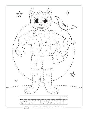 17++ Halloween tracing worksheets Live
