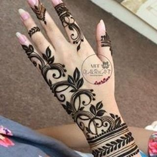 صور نقش الحناء Rose Mehndi Designs Henna Designs Hand Mehndi Desighn
