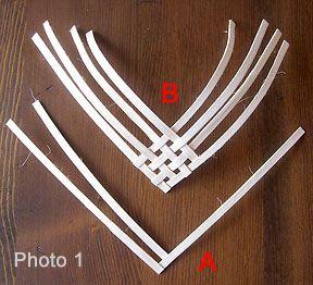 free weaving heart pattern