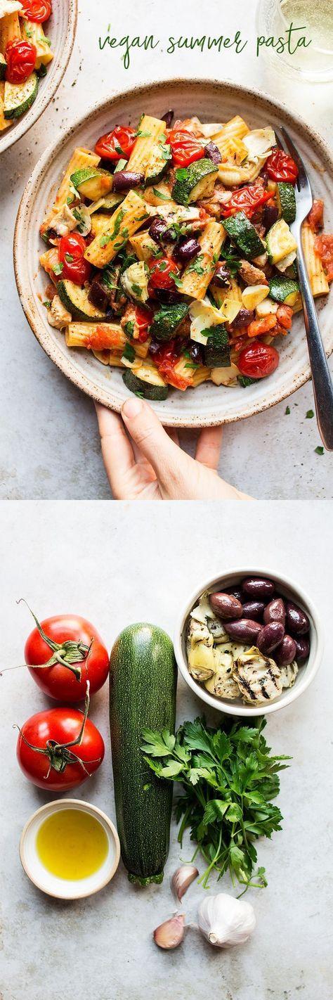 Vegan summer noodles - New Ideas -  Vegan summer pasta        #Sommernudeln #vegane Vegan summer pasta Vegan summer pasta – #Pasta #S - #ApfelKuchen #ideas #noodles #Schokokuchen #summer #TortenRezepte #vegan