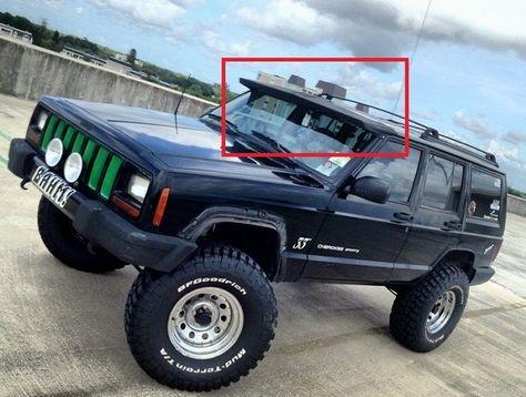 JEEP CHEROKEE XJ FORWARD SPOILER - SUN VISOR NEW  Jeep 64c96836ada