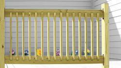 Ac2 72 X 34 Preassembled Railing Deck Railings Glass Railing Deck Deck Railing Kits