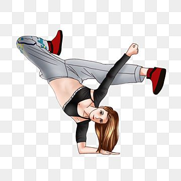 Street Dance Girl Street Clipart Dance Clipart Hip Hop Png Transparent Clipart Image And Psd File For Free Download Dancing Clipart Girl Silhouette Street Dance