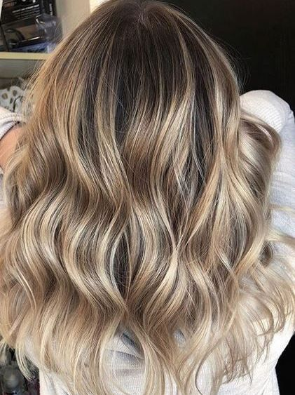 Spring 2018 Hair Color Ideas For Medium Length Hair Cleverstyling Hair Styles Balayage Hair Hair Color Balayage