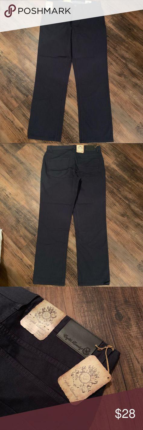 English Laundry Dark Blue Walker Jeans Men S 32x30 Nwt Mens