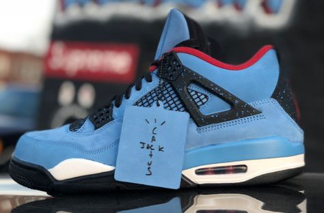 Release Date For The Travis Scott X Air Jordan 4 Cactus Jack
