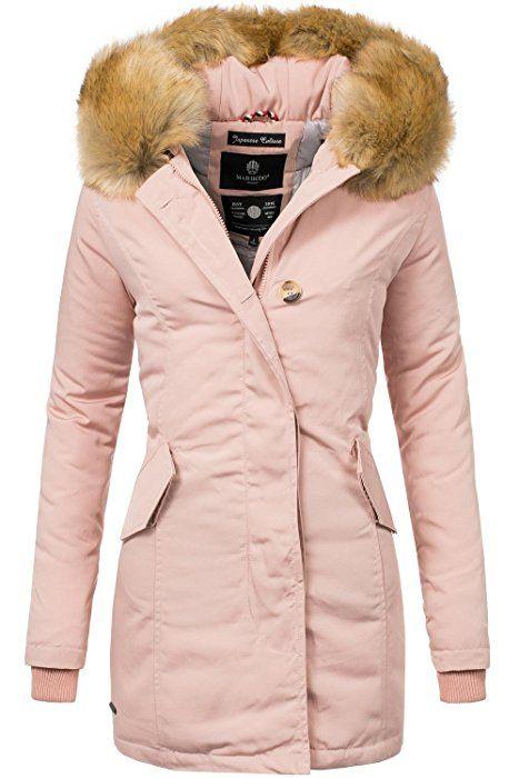 Marikoo Damen Winterjacke Karmaa Rosa Gr. XL | Fashion