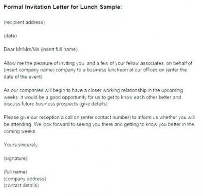 9 Features Of Reception Invitation Mail Format That Make Everyone