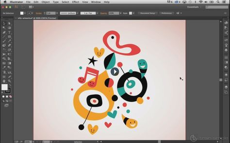 Adobe Illustrator Beginner Tutorials: How to Use the Adobe Illustrator Shape Tools