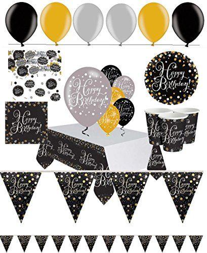 Feste Feiern Geburtstagsdeko Ohne Zahl I 47 Teile Luftballon