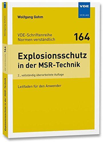 Explosionsschutz In Der Msr Technik Leitfaden F R Den Anwender