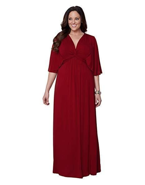 Here is the stylish Charlize style red maxi dress from ...