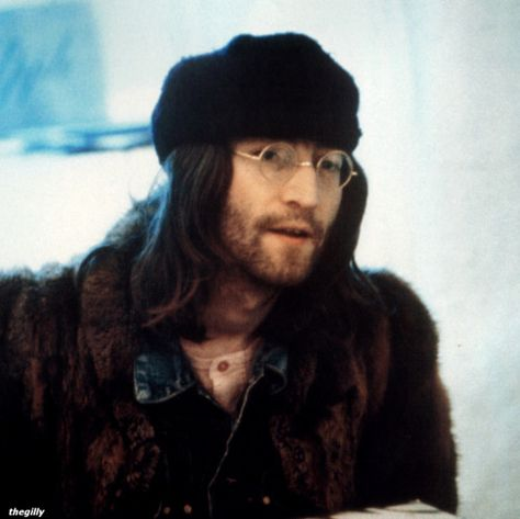 Early January 1969. John at the Apple offices in Saville Row.