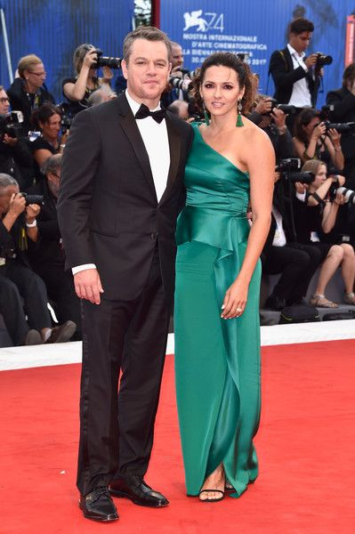 Matt And Luciana Damon At The Cannes Film Festival - The Cutest Cannes Couple Moments Of The Decade - Photos