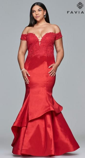 Faviana Plus Sizes Dress 9440 | Terry Costa | Prom Dresses ...