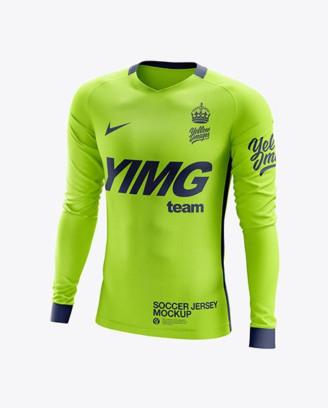 Download Mens Soccer Jersey Ls Half Side View Jersey Mockup Psd File 151 68mb In 2020 Clothing Mockup Shirt Mockup Soccer Jersey