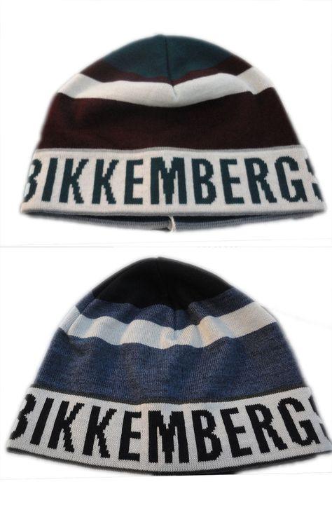 il più votato a buon mercato originale più votato nuovo stile e lusso cuffia Berretto Uomo Bikkembergs cappello LAna Invernale hat ...