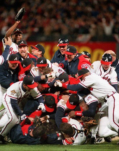 BRAVES win 1995 World Series