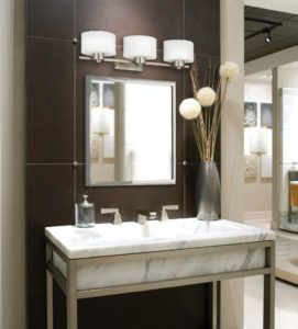 Bathroom Lighting Fixtures Over Mirror Industrial Bathroom Decor