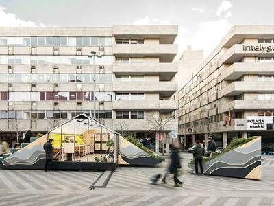 Urban Design Urban Landscape Private Space Design Madrid