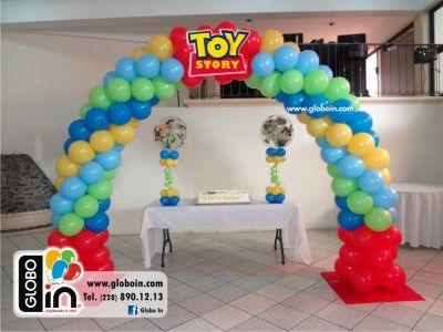 Arco De Globos Toy Story En 2019 Globos Fiesta De Toy