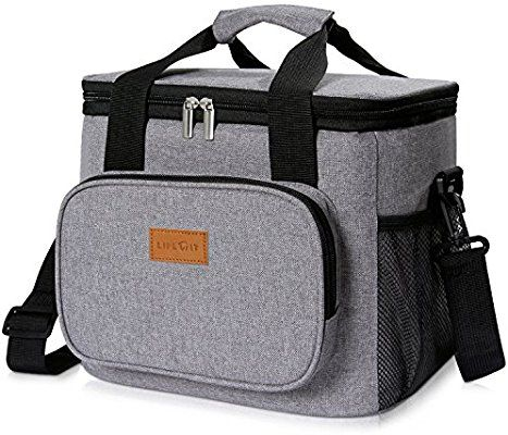 Amazon Com Lifewit Large Lunch Bag Insulated Lunch Box Soft