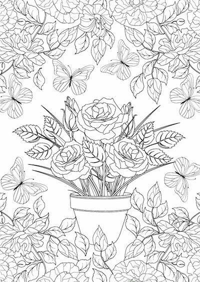 Pin Von Luciana Rodrigues Auf Artesanato Blumen Ausmalbilder Ausmalbilder Herbstmotive