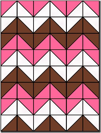 baby quilt patterns | Chevron Baby Quilt pattern @Rob AndSarah Holt  this is how you do the Chevron quilt