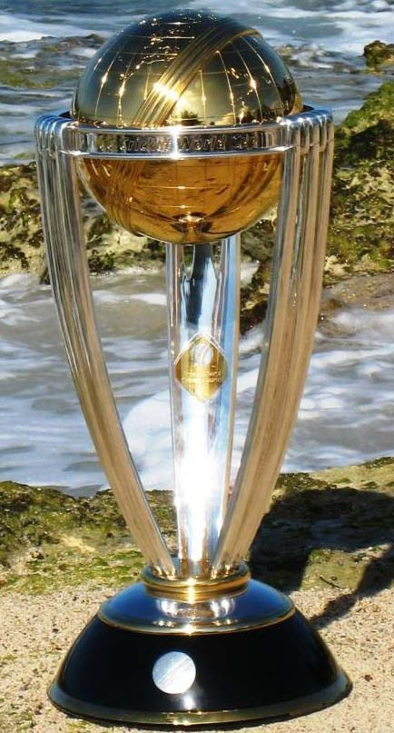 Cricket World Cup Trophy Trofeos Estadios Copa