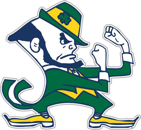 Notre Dame Car Magnet: Show your team spirit proudly with this 12 inch Vinyl Magnet. Each Magnet is made of heavy gauge magnetic vinyl and sticks to any metal surface. The officially licensed magnet is decorated in the team colors, great for car doors.
