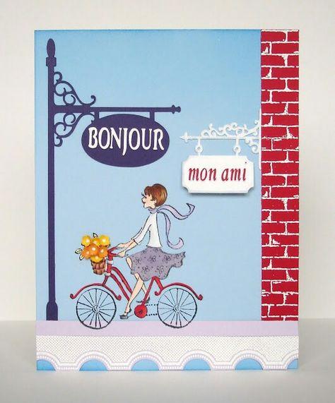 Bonjour Mon Ami Social Buon Di Bonjour Cards E I Card