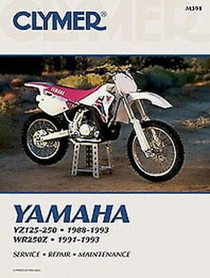 Advertisement Ebay Yamaha Yz125 Yz250 1988 1993 Wr250z 1991 1993 Manuel Clymer M391 Neuf In 2020 Clymer Motorcycle Repair Yamaha