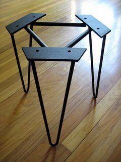 Outstanding Hairpin Legs Metal Table Legs Stainless Steel Legs Ibusinesslaw Wood Chair Design Ideas Ibusinesslaworg
