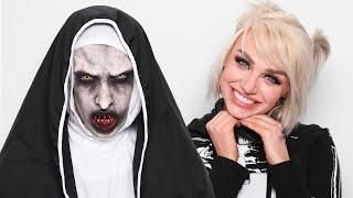 The Nun Vs Halloween 2020 The Nun Halloween Transformation ft. Glam in 2020 | Mykie glam and