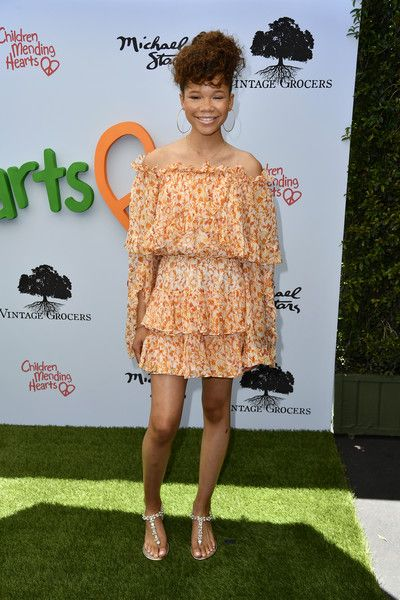 Storm Reid attends the 10th Annual Empathy Rocks Fundraiser.