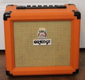 A Orange Crush 10 Watt Guitar Amp Free Shipping Speaker Orange Amplifiers Amplifier
