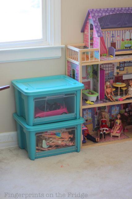 12 best Girls room images on Pinterest   Children Barbie storage and Playroom ideas & 12 best Girls room images on Pinterest   Children Barbie storage ...