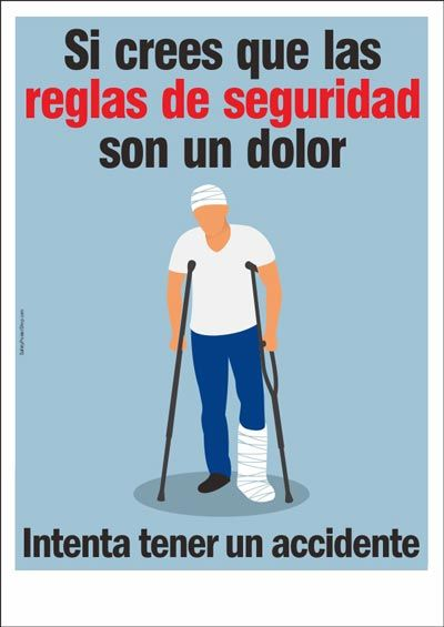 Spanish Posters Safety Poster Shop Safety Slogans Health And