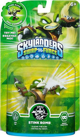 Skylander Swap Force Duo Spy Rise And Stink Bomb Activision