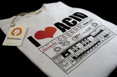 'I Love Acid' T-shirt