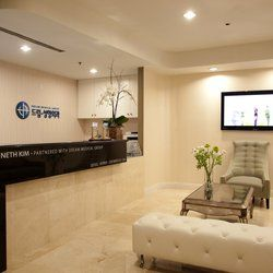 aesthetic clinic interior design - Google Search | reception counter |  Pinterest | Clinic interior design and Interiors