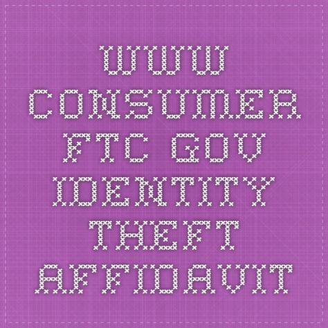 The 25+ best Identity theft affidavit ideas on Pinterest General - generic affidavit