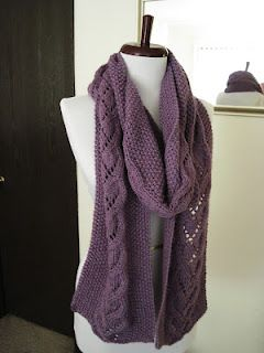 Heart Vines Scarf A Free Knitting Pattern 465 Yards Worsted
