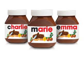 Free Nutella Personalized Labels With Pin Codes Nutella Jar Nutella Nutella Label