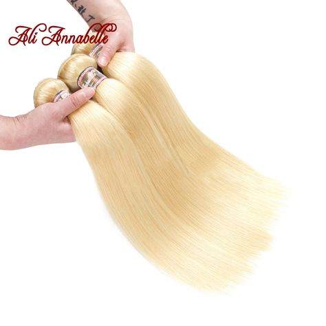 3/4 Bundles With Closure Alipearl 613 Blonde Bundles With Closure 5x5 Free Part Body Wave Brazilian Hair Weave 3 Bundles With Closure Remy Hair Extension Human Hair Weaves