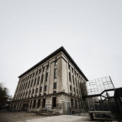 Berghain Berlin A Former Power Station This Concrete Behemoth Has Transformed Itself Into A Mecca For Clubbers All Over Berghain Berlin Techno Techno Music