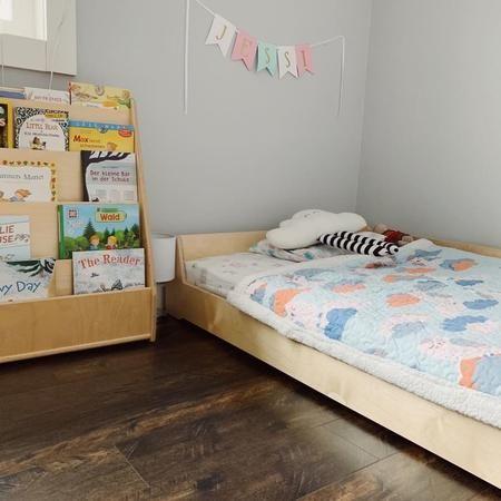 Montessori Floor Bed Floor Bed Toddler Floor Bed Simple Bed